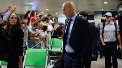 Así fue la llegada del Real Madrid a Alvedro