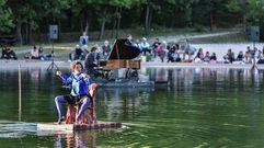 El encanto del piano flotante