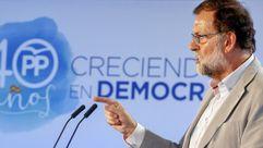 Rajoy sobre el Gobierno de la Generalitat: «Está secuestrado por radicales»
