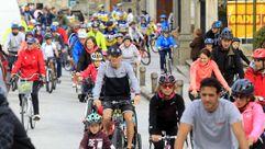 Día de la bicicleta en Ribadeo