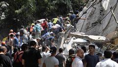 Un fuerte terremoto de 7,1 en la escala de Ritchter sacude el sur de México