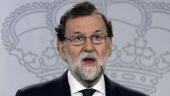 Rajoy: «La desobediencia es un acto totalitario y el referéndum vulnera la ley»