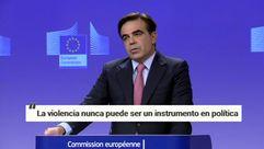 «El referendo es ilegal pero la violencia no puede ser un instrumento en política»