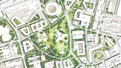 Así seráel futuro Central Park de Oviedo