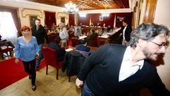 ACE, BNG y Lugonovo abandonan el pleno municipal de Lugo