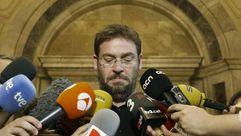 Dante Fachín acusa a Iglesias de actuar como Rajoy con el 155
