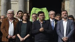 Ada Colau: «Hoy es un día negro para la democracia y para Cataluña»