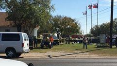 La masacre en una iglesia de Texas, en imágenes