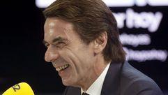 Aznar asegura que en la crisis catalana «ha habido un déficit de política muy grande»