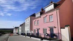 Este es el aspecto de Nansledan, la ciudad queestá edificando el príncipeCarlos de Inglaterra