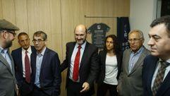 Vero Boquete y Amancio Amaro apadrinan las nuevas instalaciones de la FGF en Santiago