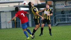 Las imágenes del partido entre el Ribadumia vs Bergantiños