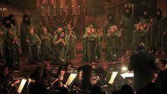 """Nabucco"" de Verdi llena el auditorio de Burela"