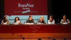 """Foro Voz Arousa: """"Para erradicar a violencia machista"""""""
