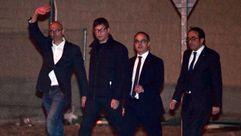 Los exconsejeros catalanes salen de prisión tras pagar la fianza