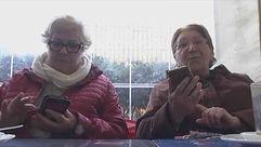 Los mayores y el Whatsapp: los de más de 65 están en línea