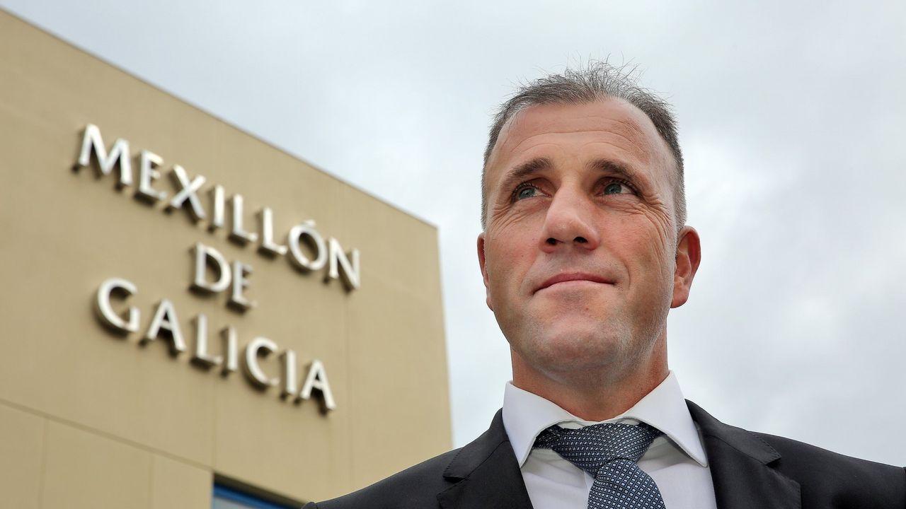 Francisco Alcalde, presidente do Consello Regulador do Mexillón de Galicia