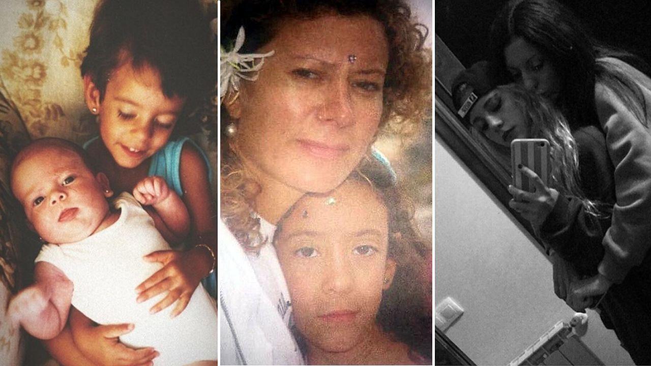 El juez sobresee la causa contra la mujer del Chicle.Imágenes subidas por Valeria Quer y por Diana López-Pinel a sus cuentas de Instagram