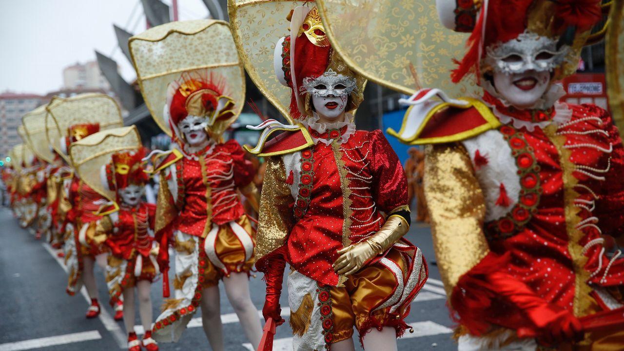 Desfile de Carnaval en A Coruña