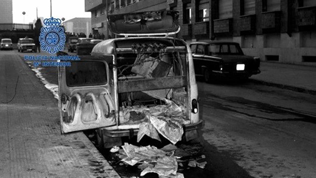 Coche bomba puesto por ETA-ASTURCÓN