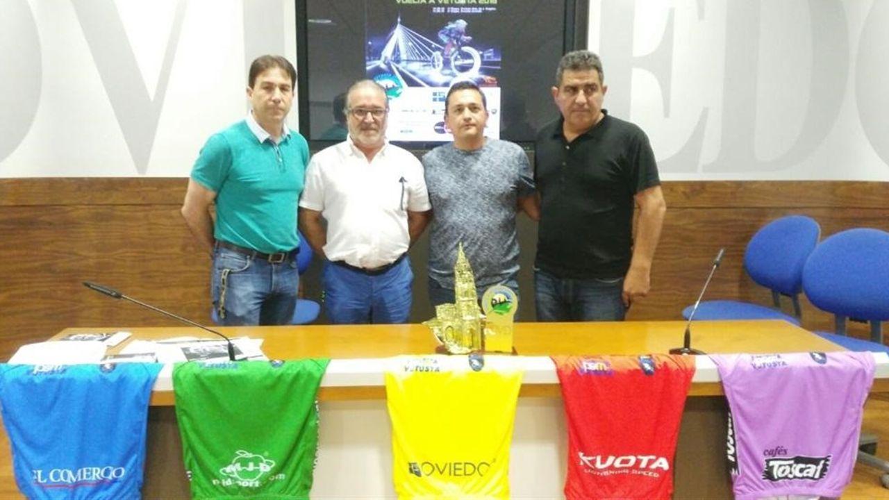 Presentacion de Vuelta Vetusta en Oviedo