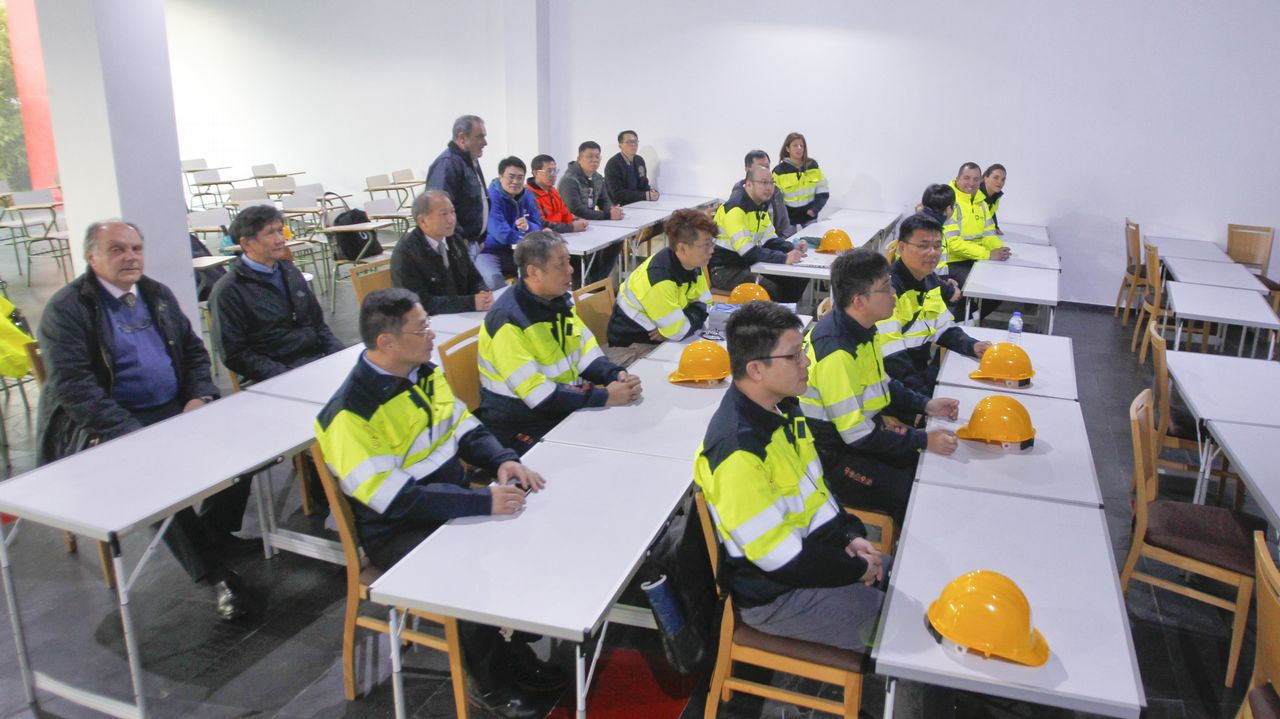 Técnicos taiwaneses participaron en un curso formativo.