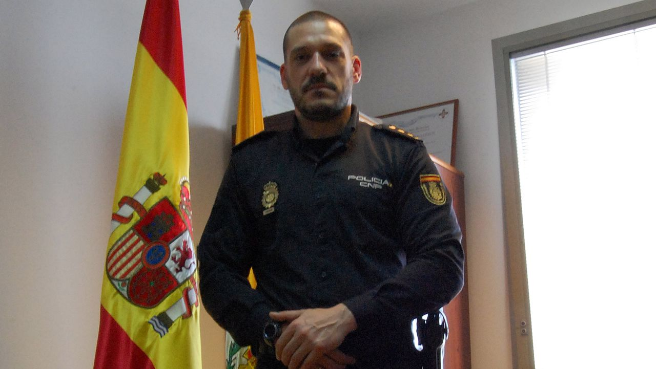 Luis Esteban, comisario de la Policía Nacional en Algeciras