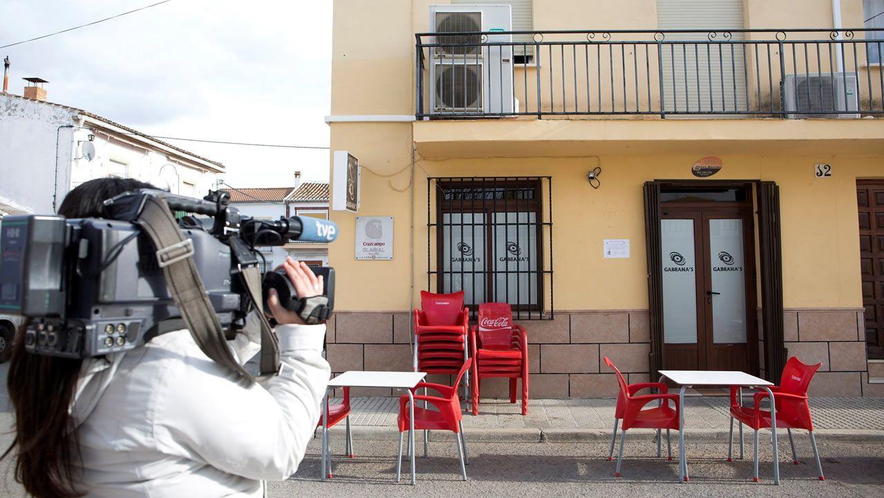 Vista del bar de Bobadilla donde estuvo la soldado que fue drogada y luego víctima de una supuesta violación