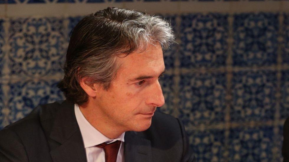 .El ministro de Fomento, Íñigo de la Serna