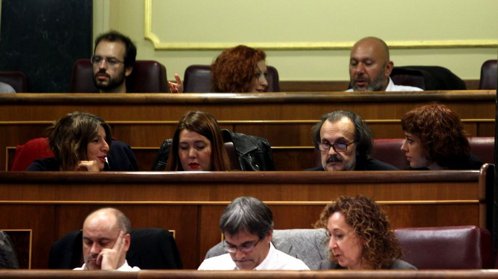 PP, Ciudadanos y Vox, juntos enuna manifestación este domingo en Madrid.Alfredo Canteli