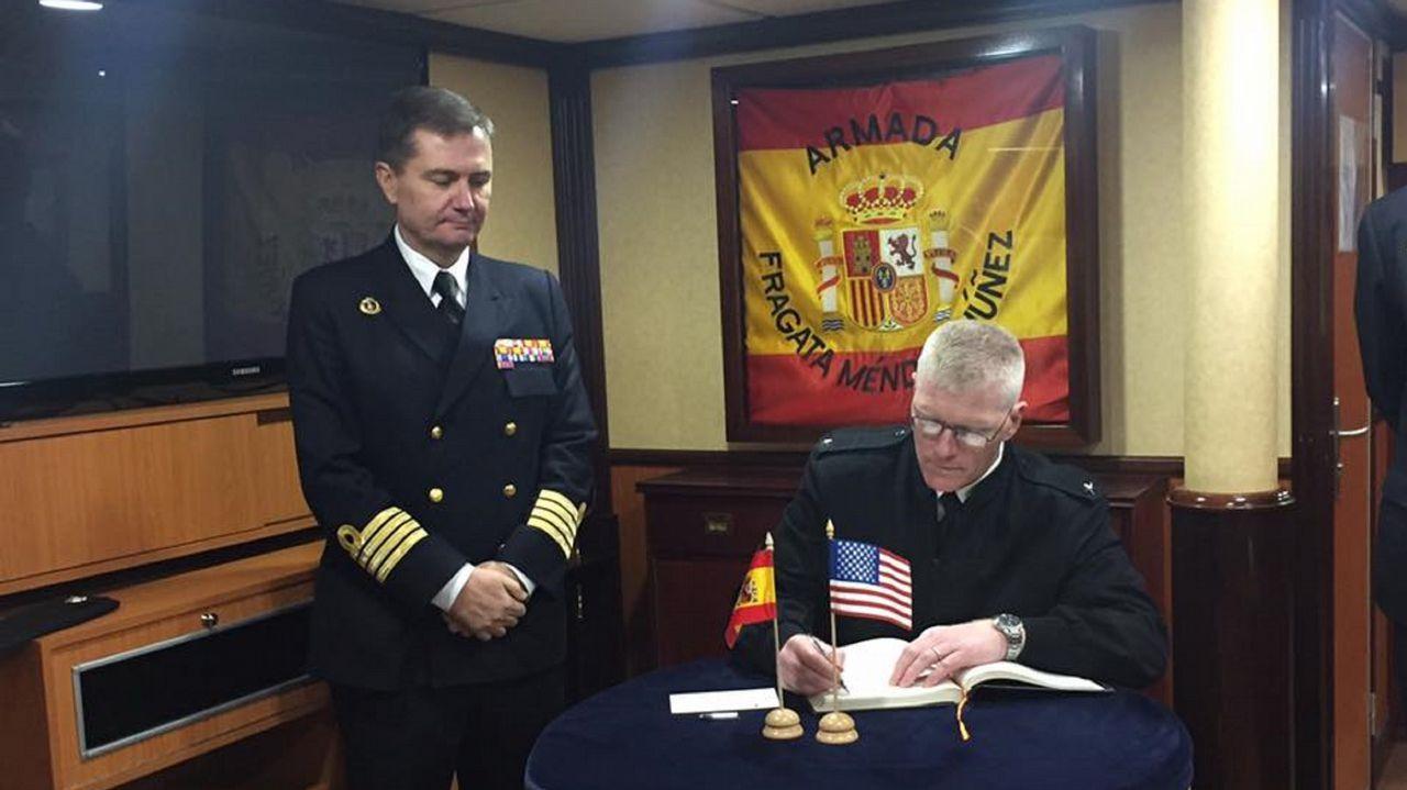 La Méndez Núñez ultima los preparativos para su integración con Estados Unidos