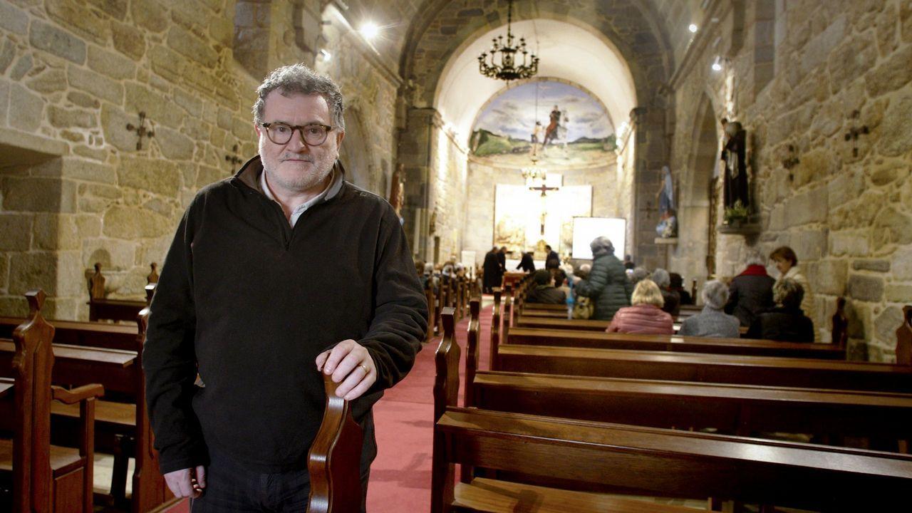 .Natural de O Grove, Padín lleva más de una década en el barrio de Fuensanta, Valencia