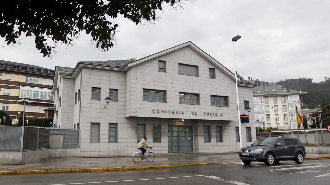 Las imágenes del incendio en un edificio de Pontevedra.Ante sus seguidores, Guaidó rechazó negociar las iniciativas planteadas por México y Uruguay.
