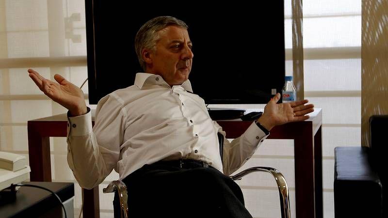 Rubalcaba saluda a Chacón en presencia de Marcelino Iglesias