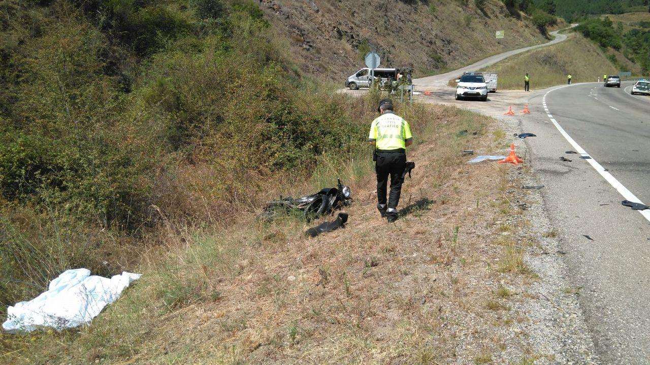 El conductor que murió en Oroso era un vecino de Santiago