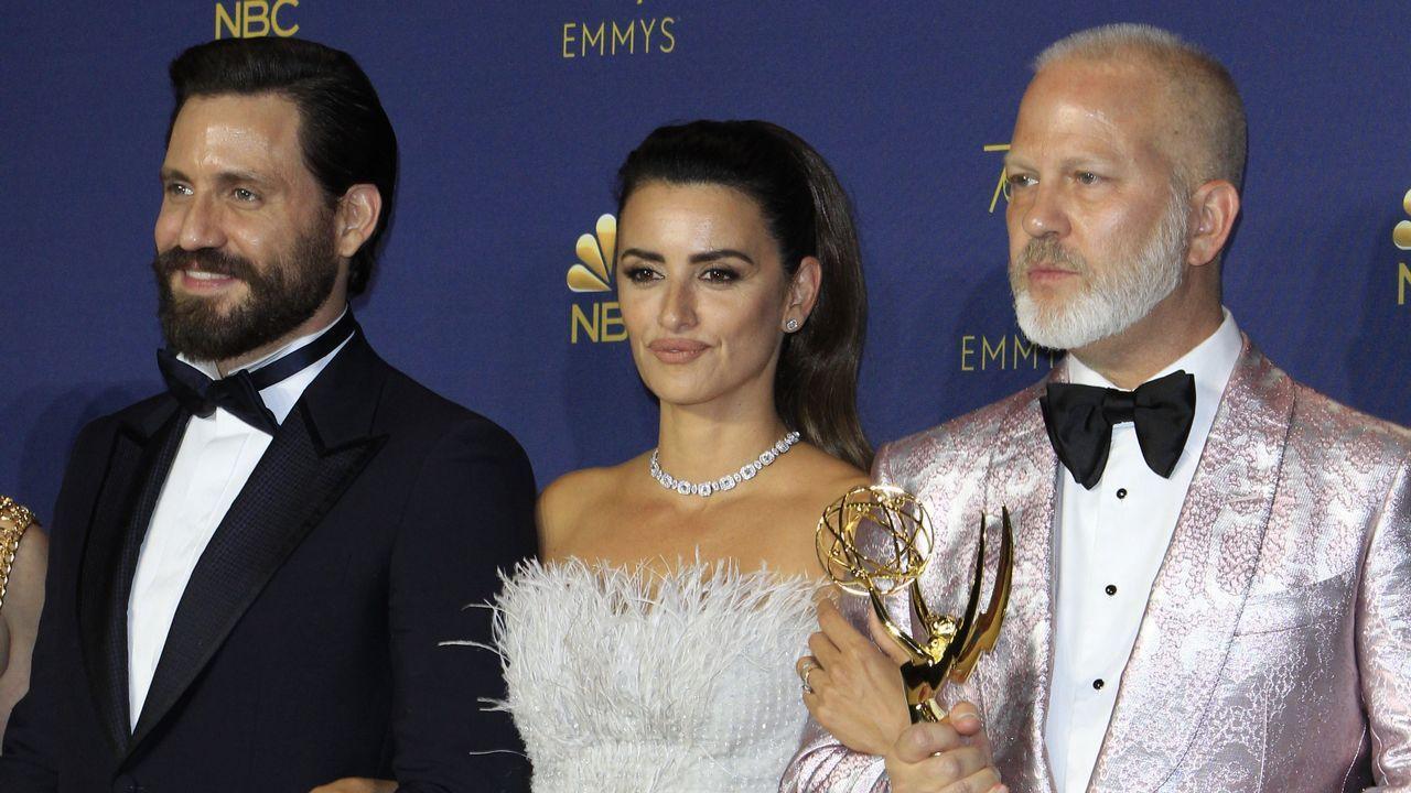 Emmy 2018: Edgar Ramirez, Penélope Cruz y Ryan Murphy