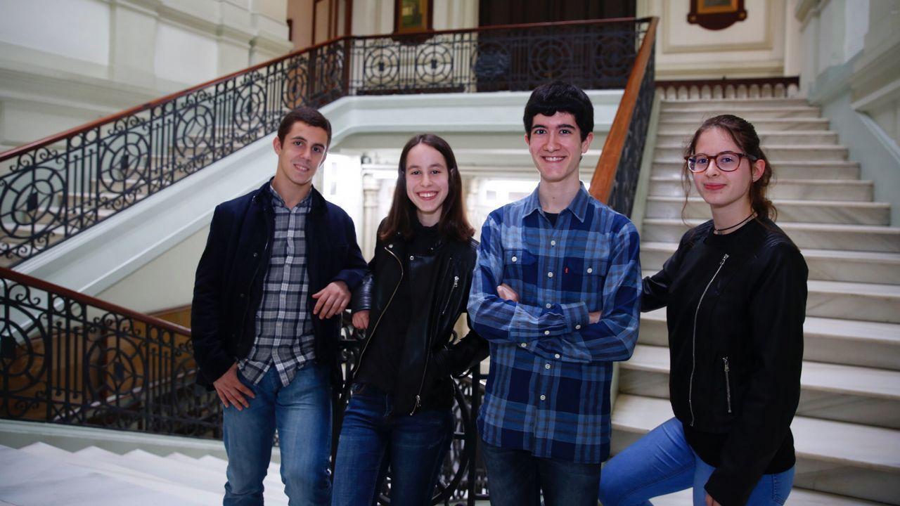 Ambiente de selectividad en el campus de A Coruña