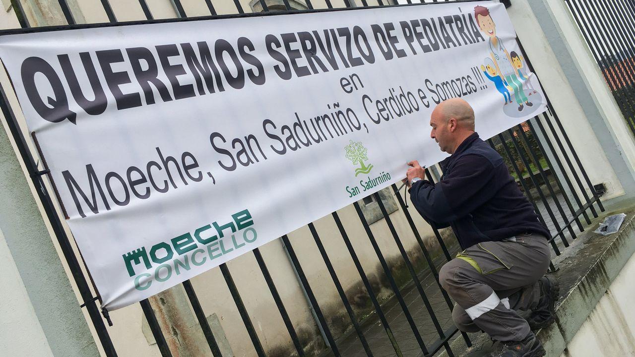 La segunda jornada de O Son do Camiño 2019, en fotos.Los vecinos del barrio lucense de As Gándaras se manifestaron el pasado marzo contra las okupaciones