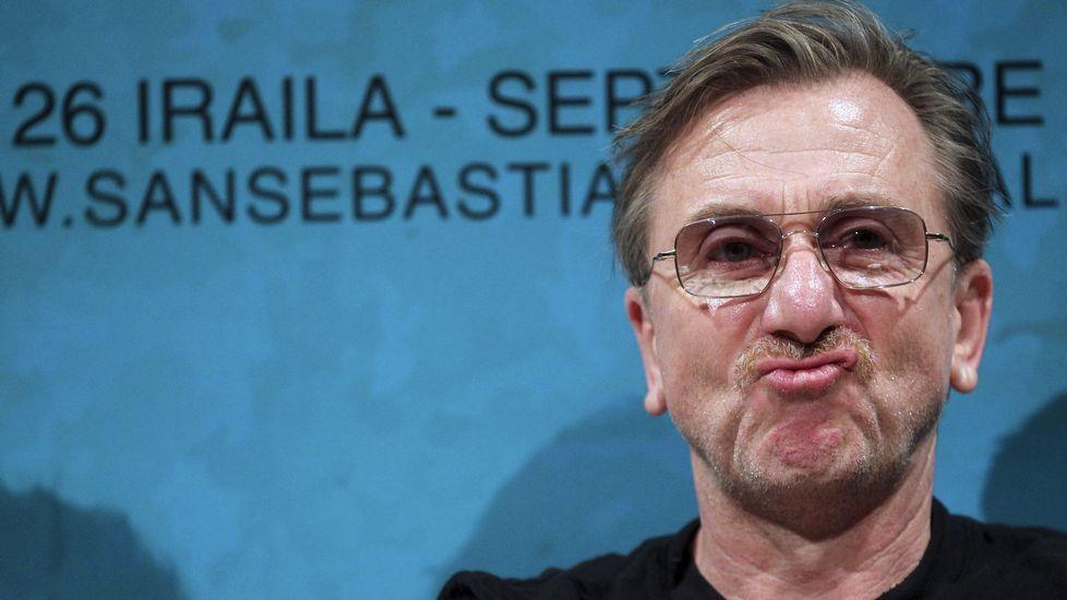 Tim Roth, habitual de los filmes de Tarantino, que se ha subido a la cresta de la nueva ola del cine latinoamericano y presenta en San Sebastián dos títulos mexicanos que protagoniza, «600 millas»