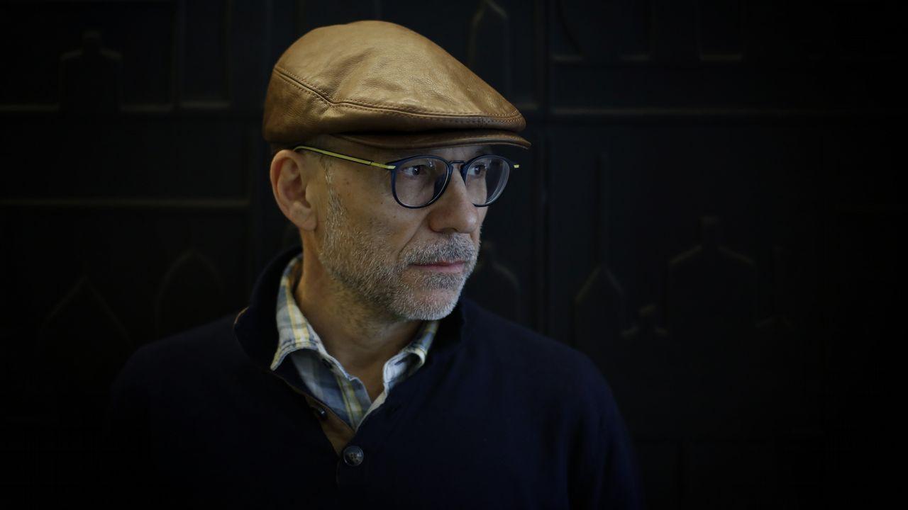 El ex presidente de la AVT Francisco José Alcaraz, en una imagen de archivo