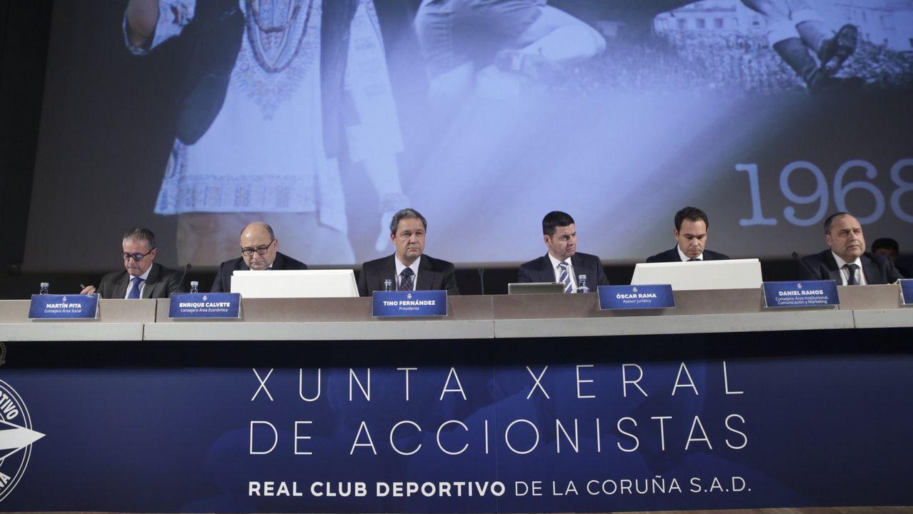 Tino Fernández: «Ojalá encontremos al entrenador que se pueda quedar muchos años».Los jugadores del Dépor lucieron las prendas de Ecoalf en presencia de Tino Fernandez