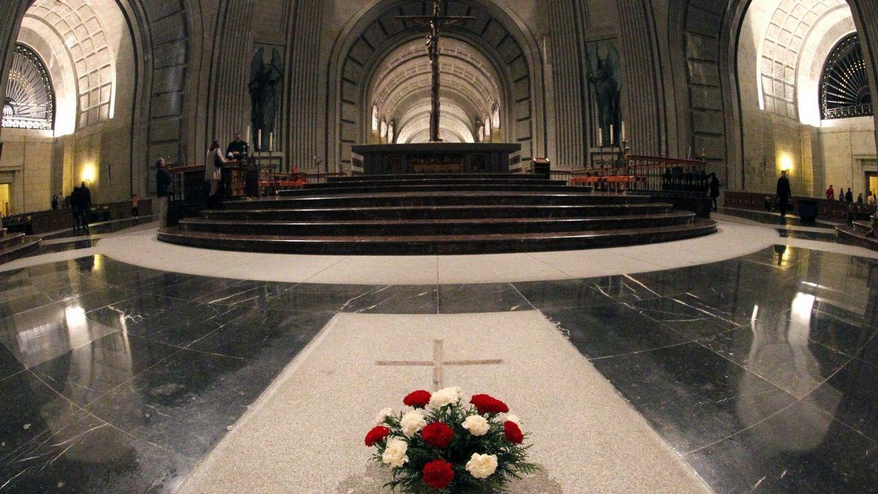 Francisco Serrano (Vox): «La brecha salarial es una gran mentira».La fundación Franco afirma que la basílica donde está enterrado el dictador es un lugar sagrado, y por lo tanto, es inviolable