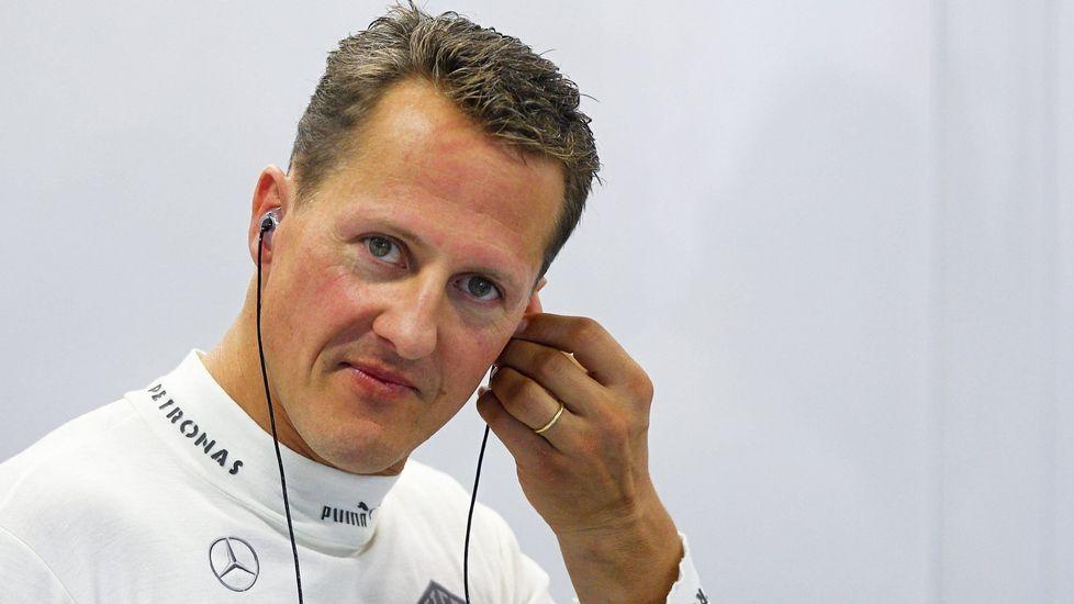 Rosberg campeón del mundo.Camiones de recogida de residuos de Emulsa