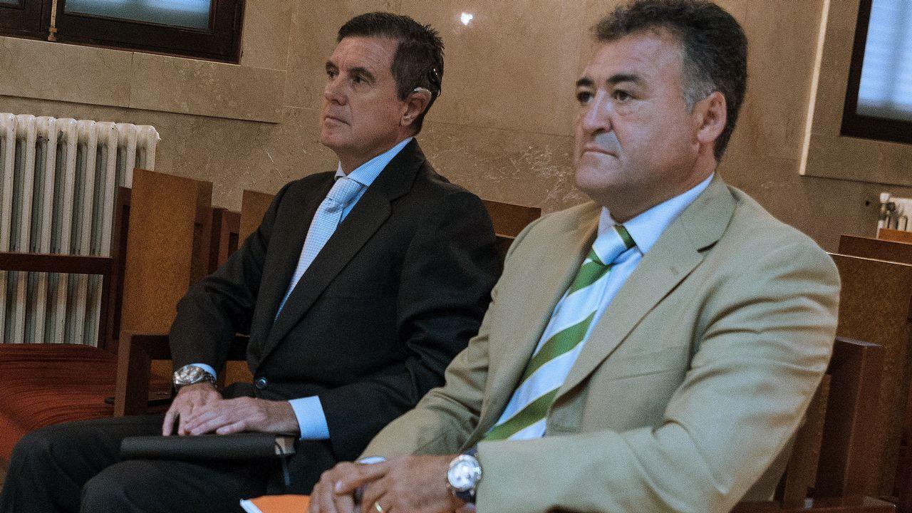 Iñaki Urdangarin.Jaume Matas, junto a José Luis «Pepote» Ballester