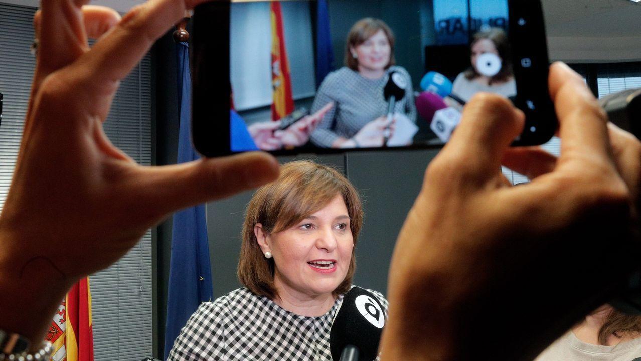 candidatos.Isabel Bonig C. Valenciana. Casado respetó el liderazgo de una de las que más se significó a favor de Sáenz de Santamaría en las primarias.