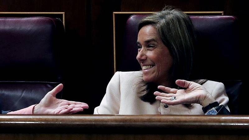 Teófila Martínez: «Hay gente que pide para comer y tiene Twitter, que cuesta dinero»