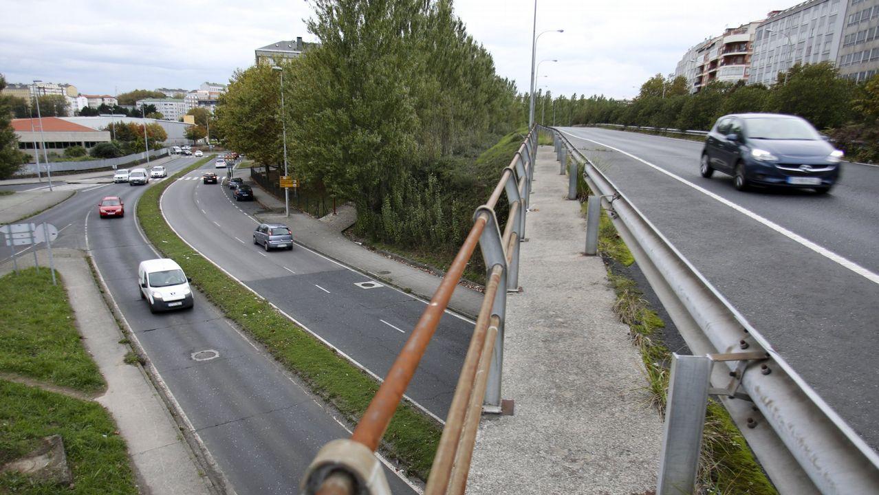 Tramo de la autovía entre León y Benavente