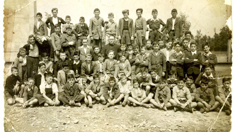 Alumnos que estudiaron en el colegio entre los años 40 y 50