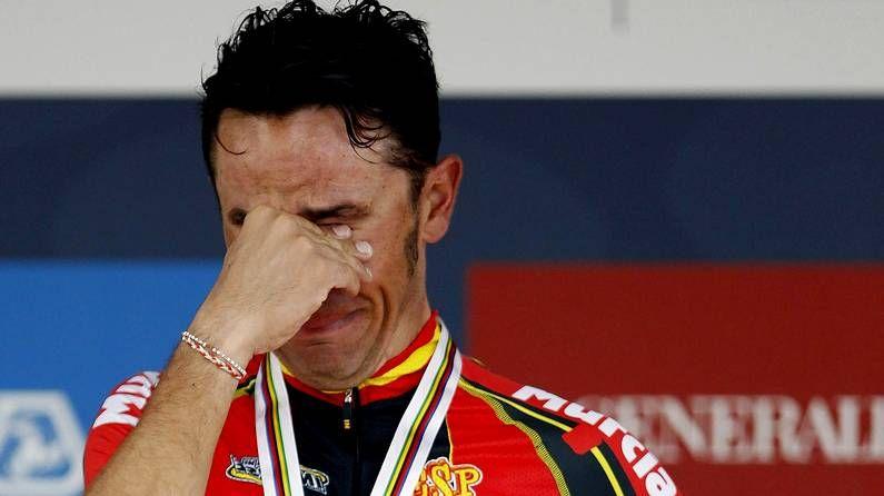Lágrimas de Purito en el podio de Florencia