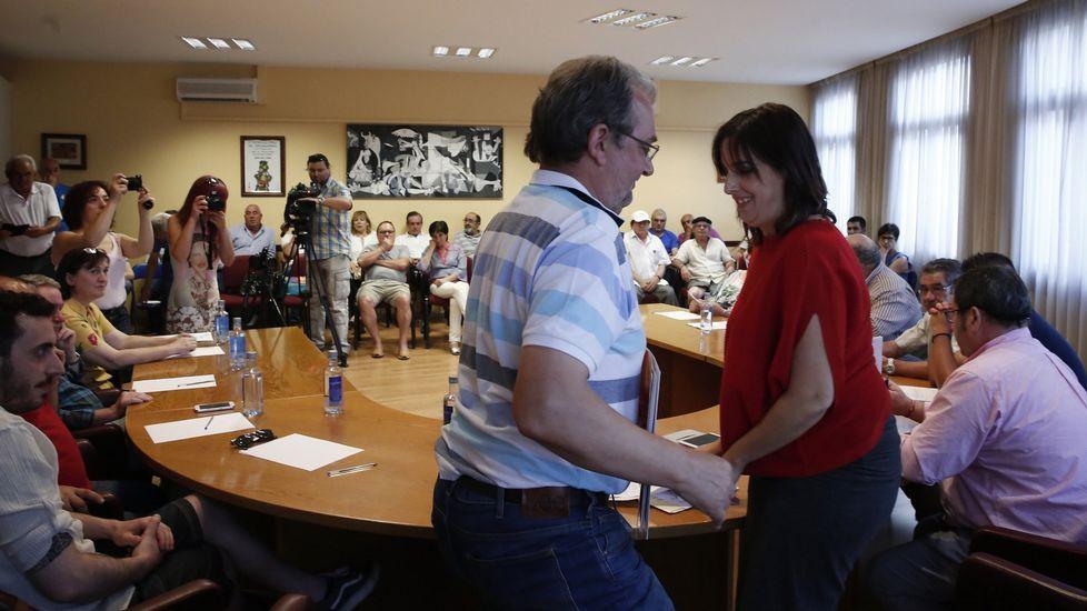 Luis Fernández Gudiña es alcalde desde junio, tras la dimisión de Maria G. Albert